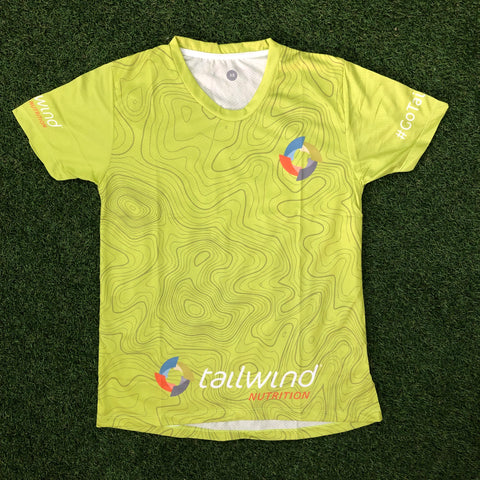 Tailwind Tech Tee - Green Contour - Men (TROPIC)
