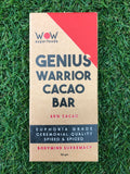 WOW Superfoods Genius Warrior Cacao Bar - 58g