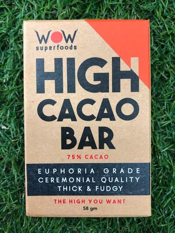 WOW Superfoods High Cacao Bar - 58g