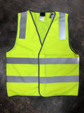 High-Visibility Safety Vest - AS/NZS 4602 CLASS D/N