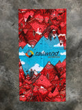 Tailwind Multifunction Neck Gaiter by DaNg Doodles
