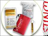 Instinct Essentials Stash Pack - Cup, Whistle, Emergency Blanket and Mesh Bag
