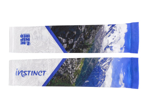 Instinct BE INSPIRED Arm Sleeves - Chamonix