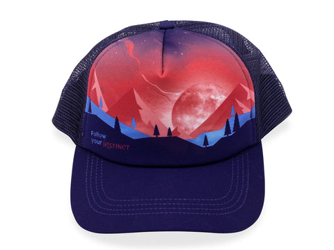 Instinct BE INSPIRED Trucker - MOONTAIN