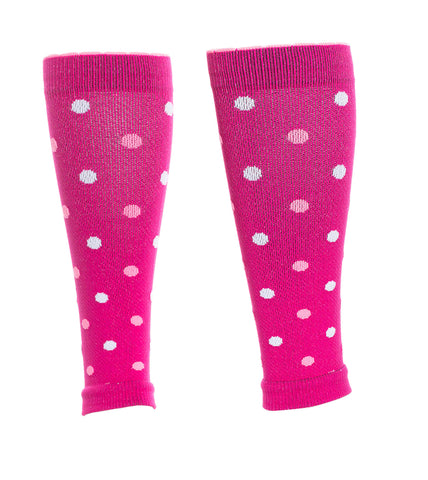 Lily Trotters Dots-a-Plenty© Sleeves - Pink