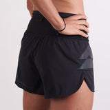T8 Sherpa Shorts V2 - Black - Women's