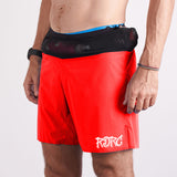 T8 x RDRC Sherpa Shorts V2 - Red Limited Edition - Men's