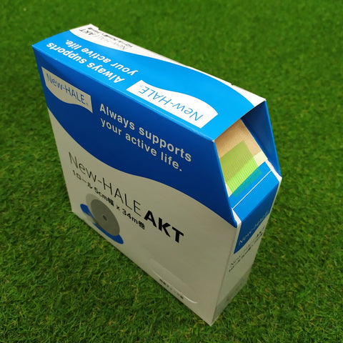 New-HALE AKT (Athletic Kinesiology Tape ) Bulk Roll - 5cm x 34m