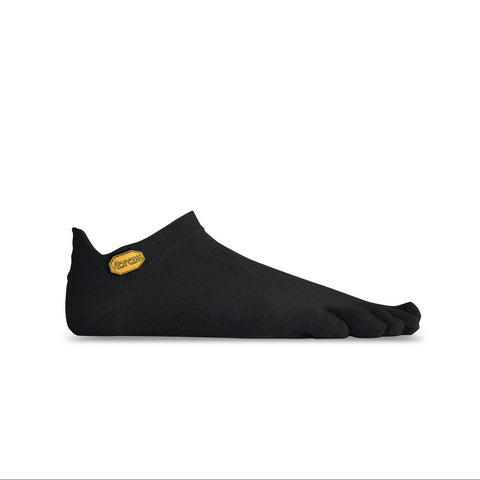 Vibram Five Fingers No Show Toe Socks - Black