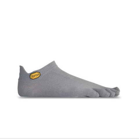 Vibram Five Fingers No Show Toe Socks - Grey