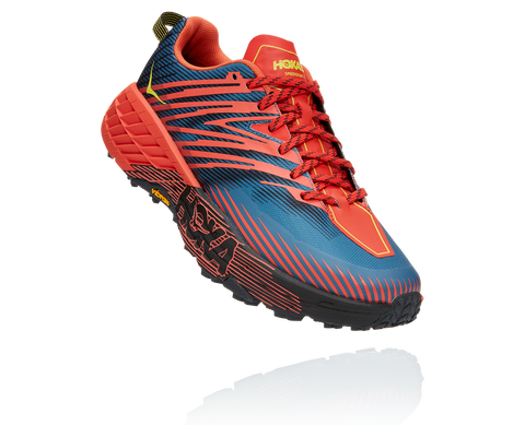 Hoka One One Speedgoat 4 - Wide 2E - Fiesta/Provincial Blue - Men