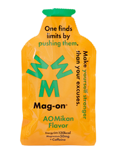 Mag-On Caffeinated Energy Gel - AO Mikan