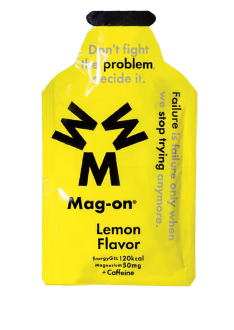 Mag-On Caffeinated Energy Gel - Lemon