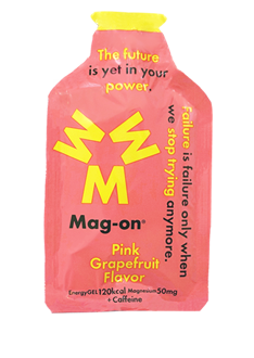 Mag-On Caffeinated Energy Gel - Pink Grapefruit