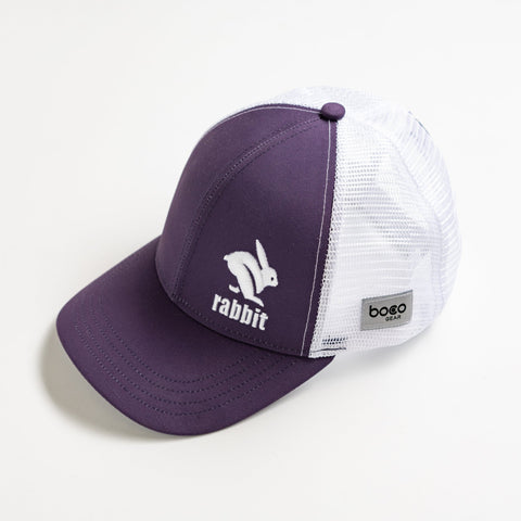 rabbit Technical Trucker Hat - Gothic Grape