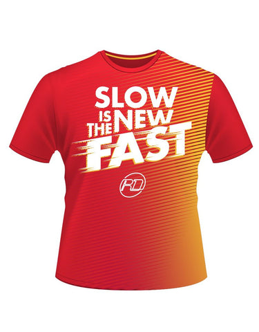 RDRC SLOW IS THE NEW FAST Tech Tee - Women