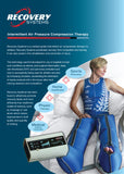 Recovery Systems Active Compression DUO Bundle - RS002 Digital Controller with Leg and Hip/Glute Cuff Bundle