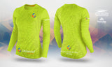 Tailwind Tech Long-Sleeved Tee - Green Contour - Women (ULTRA)