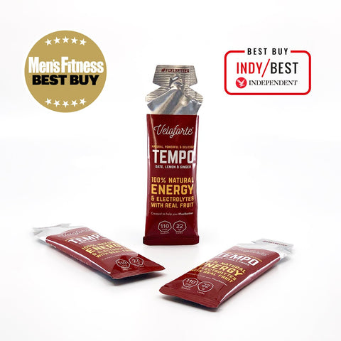 Veloforte Energy Gel - Tempo (Date, Lemon & Ginger)