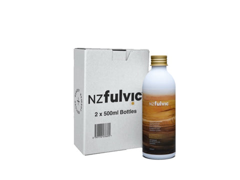 NZ Fulvic Twin Pack