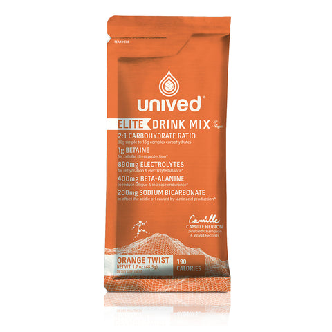 Unived Elite Drink Mix - Orange Twist