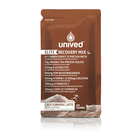 Unived Elite Recovery Mix - Coco Tumeric Latte