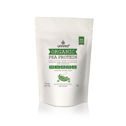 Unived Organic Pea Protein (Raw)