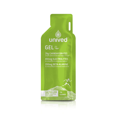 Unived Energy Gel - Salted Lime