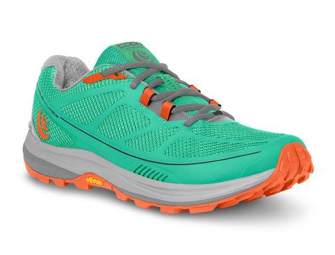 Topo Athletic Terraventure 2- Mint/Tangerine - Women's