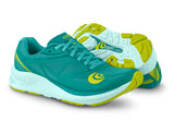 Topo Athletic Zephyr - Teal/Lime - Women's