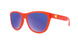 Knockaround Kids Premiums - Bright Red / Moonshine (Non-Polarised)