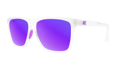 Knockaround Fast Lanes Sport - Clear Jelly / Purple (Polarised)