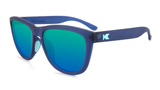 Knockaround Sport Premiums - Rubberized Navy / Mint (Polarised)