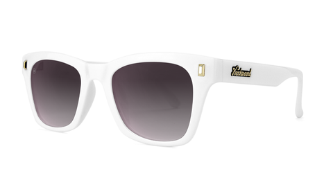 Knockaround Seventy Nines - Glossy White / Smoke Gradient (Polarised)