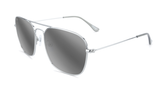Knockaround Mount Evans - Silver / Silver Smoke (Polarised)