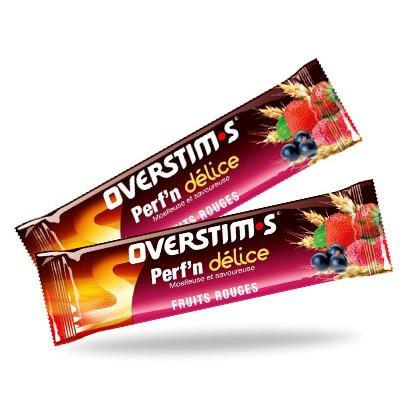Overstim.s Perf'n Delice - Red Berries Cereal Bar