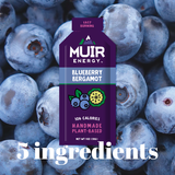 SALE - Muir Energy - Blueberry Bergamot Gel (Fast Burning)