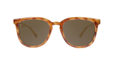 Knockaround Paso Robles - Glossy Blonde Tortoise Shell / Amber (Polarised)