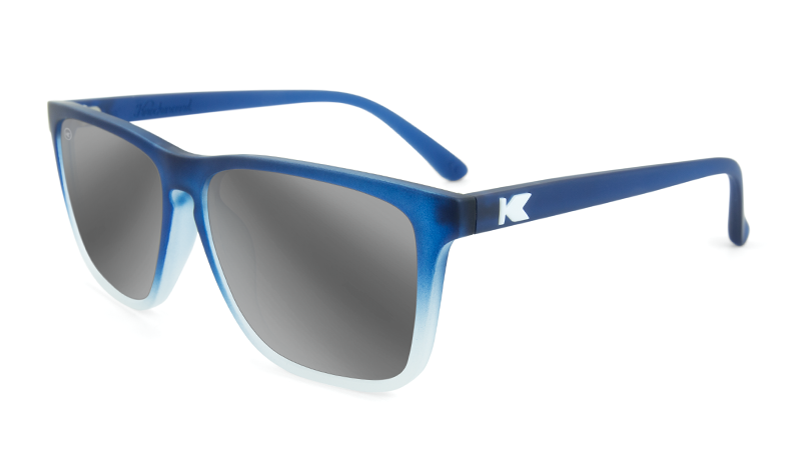 d029f2434e Knockaround Fast Lanes - Frosted Rubber Blue Ice   Silver Smoke (Polarised)