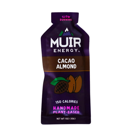 Muir Energy - Cacao Almond Energy Gel (Slow Burning)