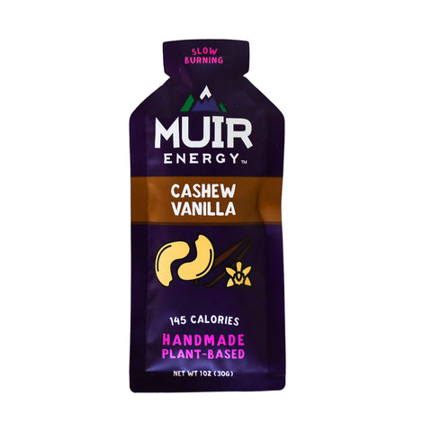 Muir Energy - Cashew Vanilla Energy Gel (Slow Burning)