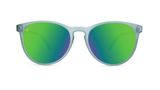 Knockaround Mai Tais - Frosted Grey / Green Moonshine  (Polarised)