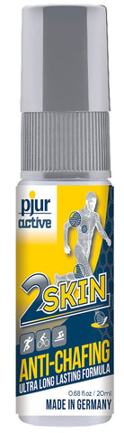 Pjuractive 2SKIN ANTI-CHAFING GEL - 20ml Dispenser