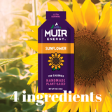SALE - Muir Energy - Sunflower Energy Gel (Slow Burning)