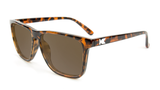 Knockaround Fast Lanes - Glossy Tortoise Shell / Green Moonshine (Polarised)