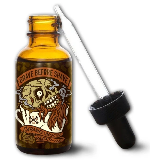 Grave Before Shave | Caramel Mocha BEARD OIL