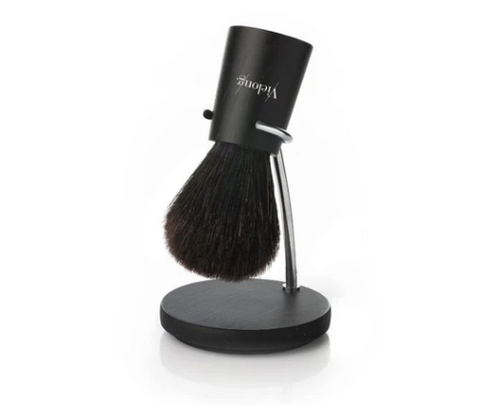 Vie-Long | Nordik Set Black Horse Hair Shaving Brush with Stand