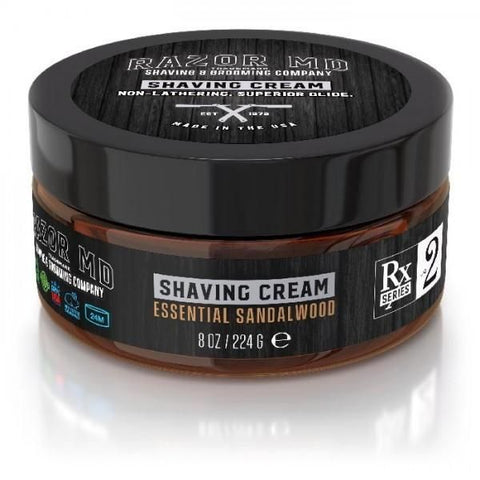 Razor MD | Shaving Cream in Essential Sandalwood