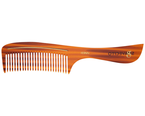 Suavecito | Deluxe Amber Handle Comb C103AN
