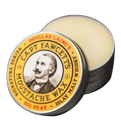 Capt Fawcett's | Big Peat Islay Malt Whisky Moustache Wax